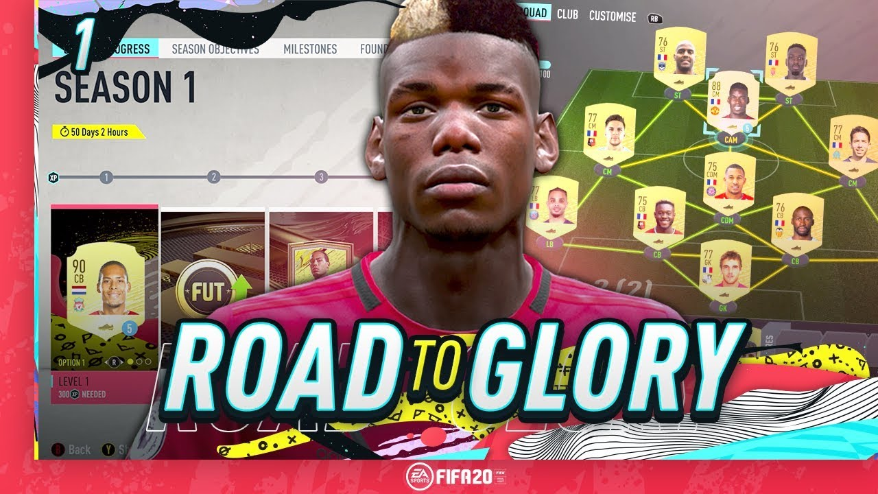 FIFA 20 ROAD TO GLORY #1 - HOW TO START FIFA 20 ULTIMATE TEAM!