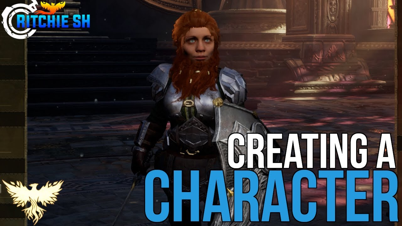 Ashes of Creation MMORPG - ALPHA 1 GAMEPLAY: CREATING A CHARACTER!