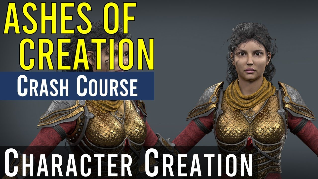 Ashes of Creation Character Creation [Ashes Crash Course]