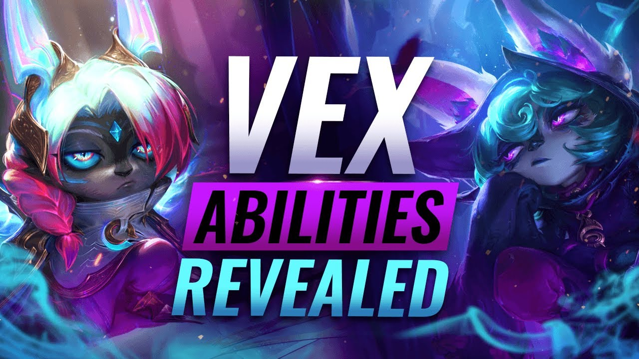 NEW CHAMPION VEX: ALL ABILITIES REVEALED - League of Legends