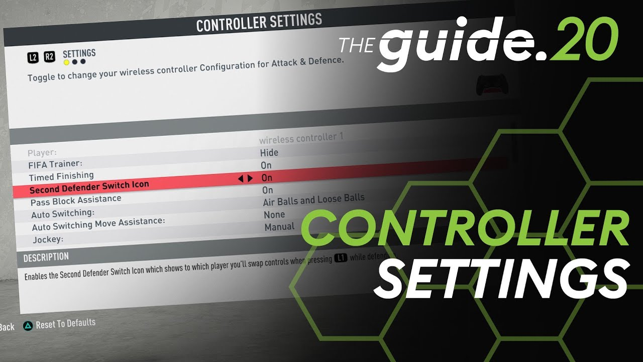 The ONLY Controller Settings Guide you will ever need for FIFA 20! | IN-DEPTH advice & best settings